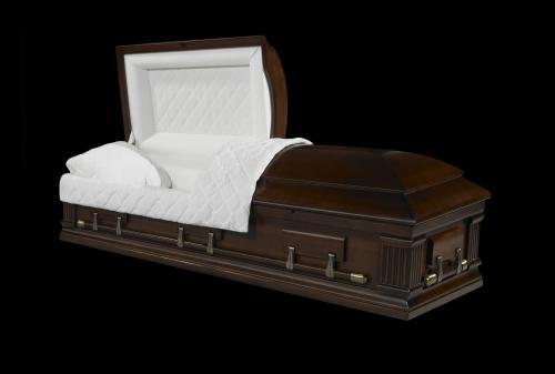 Гроб элитный модель MAGISTER (орех)