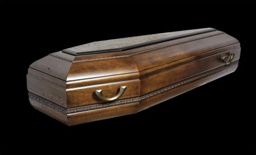 """Гроб элитный модель """"А8"""" (tondo)"""