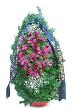 Венок ритуальный на похороны РВЖ10 в Москве