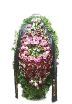 Венок ритуальный на похороны РВЖ15 в Москве