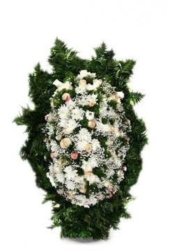 Венок ритуальный на похороны РВЖ7 в Москве