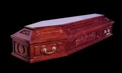"""Гроб элитный модель """"7UC"""" (ольха)"""