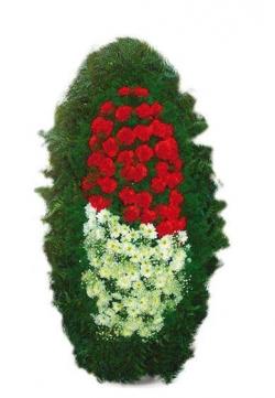 Венок ритуальный на похороны РВЖ9 в Москве