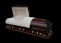 Гроб элитный модель WINFIELD (махагон)
