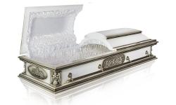 """Гроб модель """"Вегас"""" Белый"""